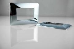 Kunststoff-Verchromen-Innendesign-Wandplatte